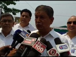 Harish Rawat raises questions on EVMs as election results come up