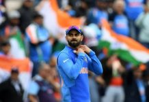 Kohli becomes the fourth Indian to win 50 international one-dayers